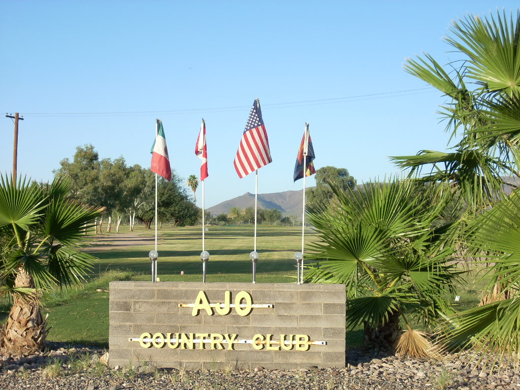 Ajo Country Club sign